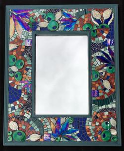 "China mirror - 18"" x 12"" - sold"