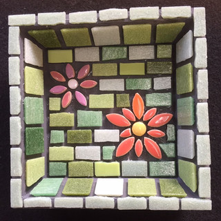 4 inch square tray