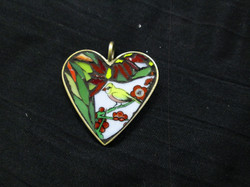 Heart pendant - $45