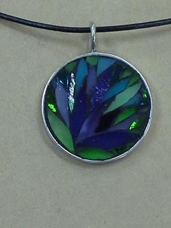 Floral Pendant - Sold
