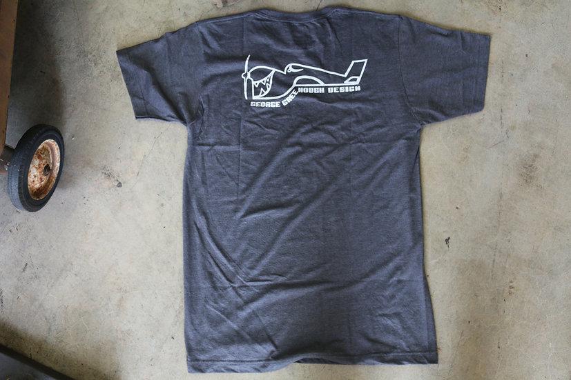 Greenough Airplane Logo - Grey