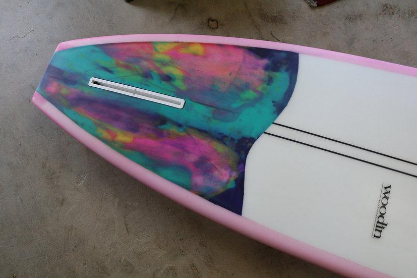 """8'6"""" Woodin Surfboards"""