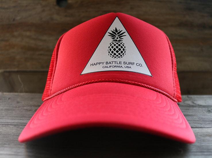 HB Surf Co. Original Cap - Red Solid