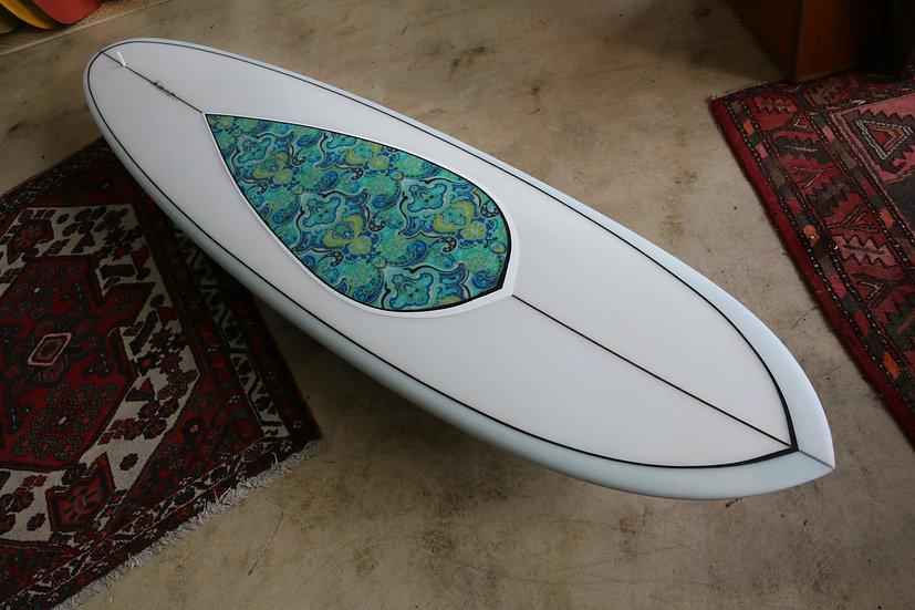 """7'6"""""""" Woodin Surfboards"""
