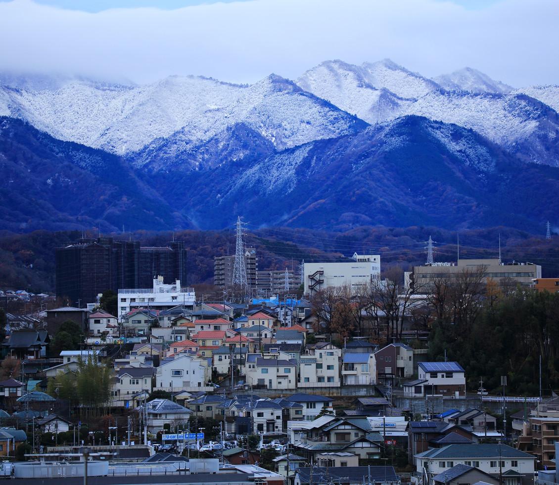 丹沢山系の雪景色.JPG