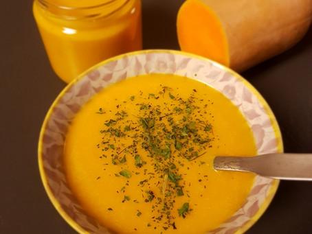 Miam - Velouté butternut au curry maison
