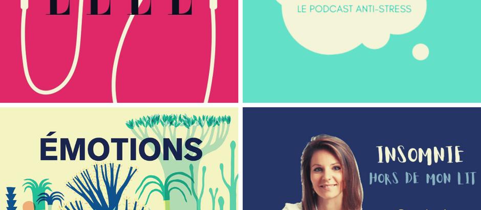 4 podcasts 🎧 qui font du bien !
