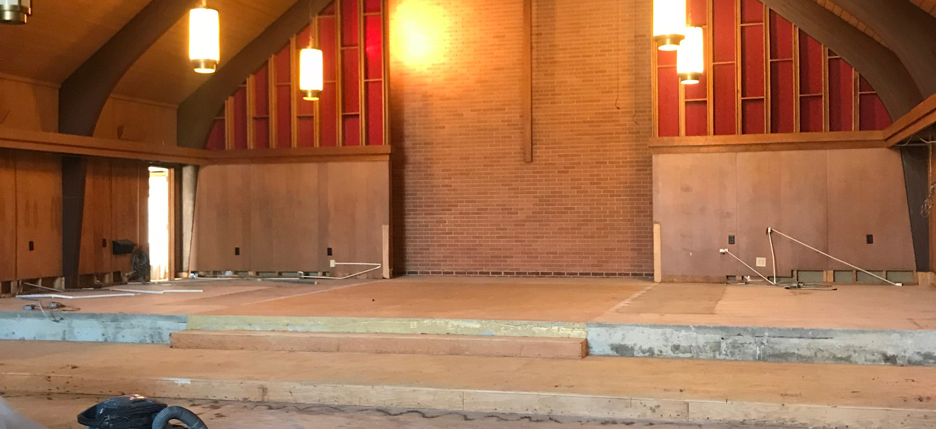 Altar, Lectern, and Pulpit Removal