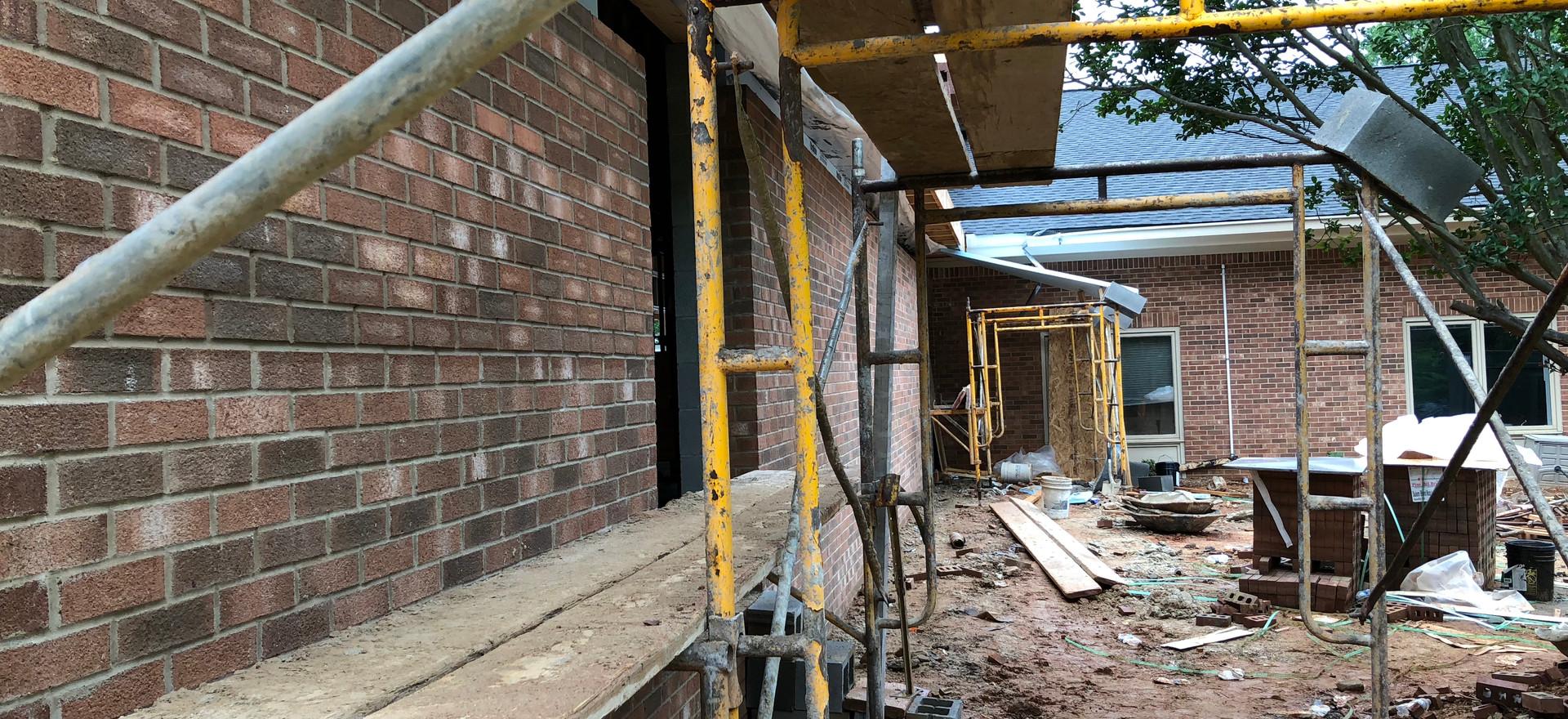 New Brick Work Looking Good