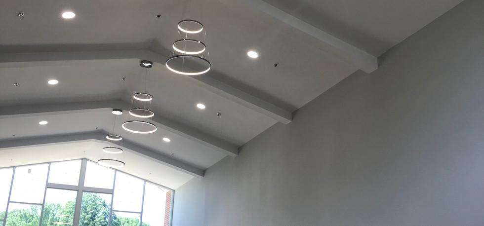 Welcome Center Lighting