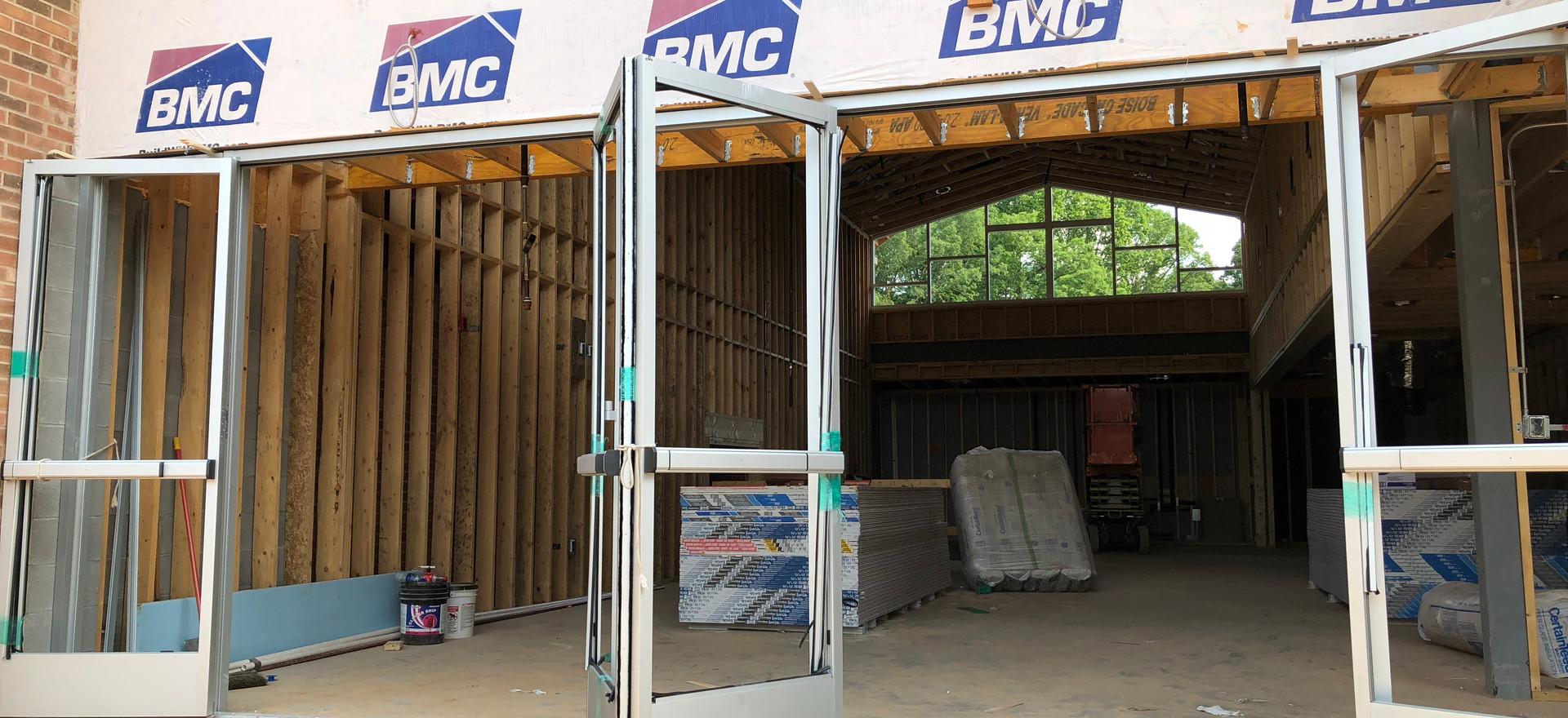 Welcome Center Doors