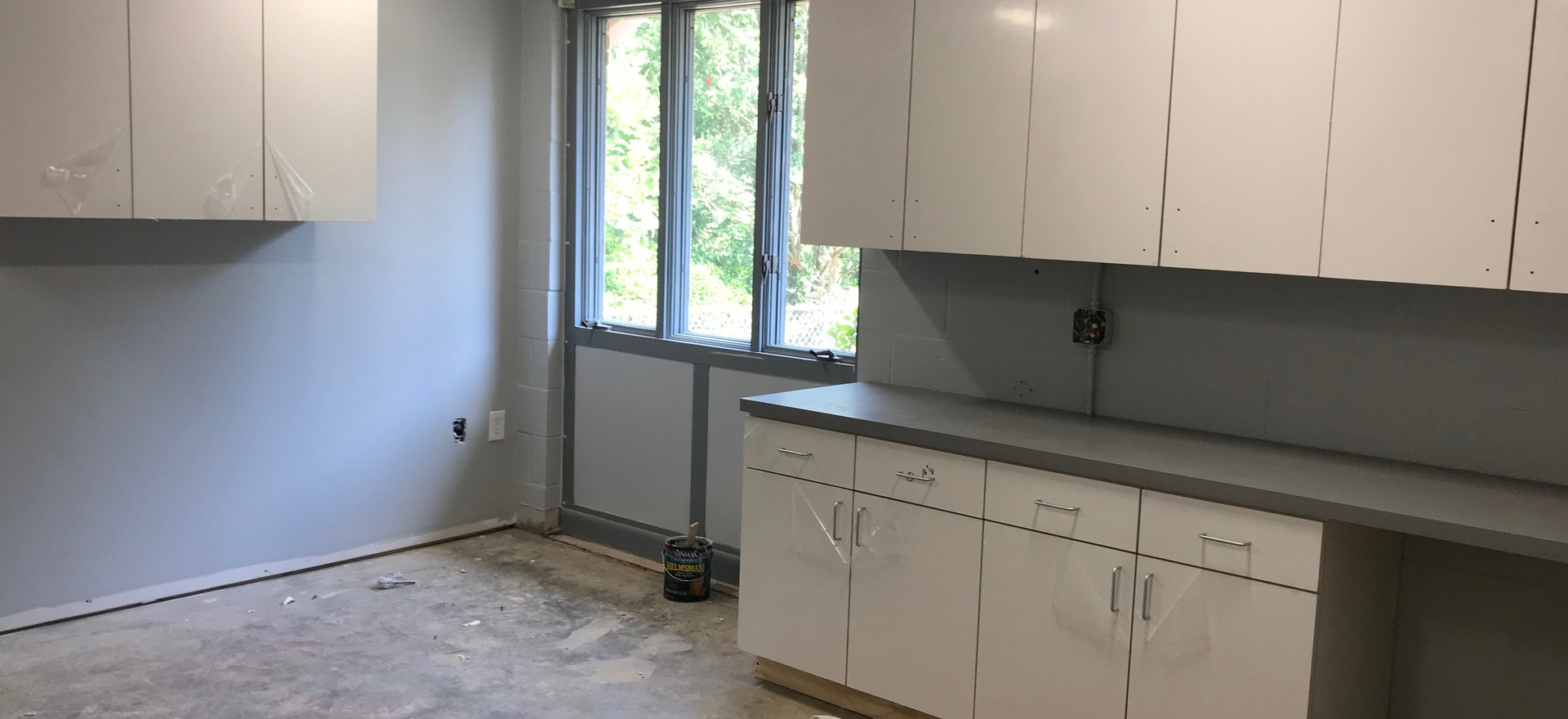 Painting and Cabinetry