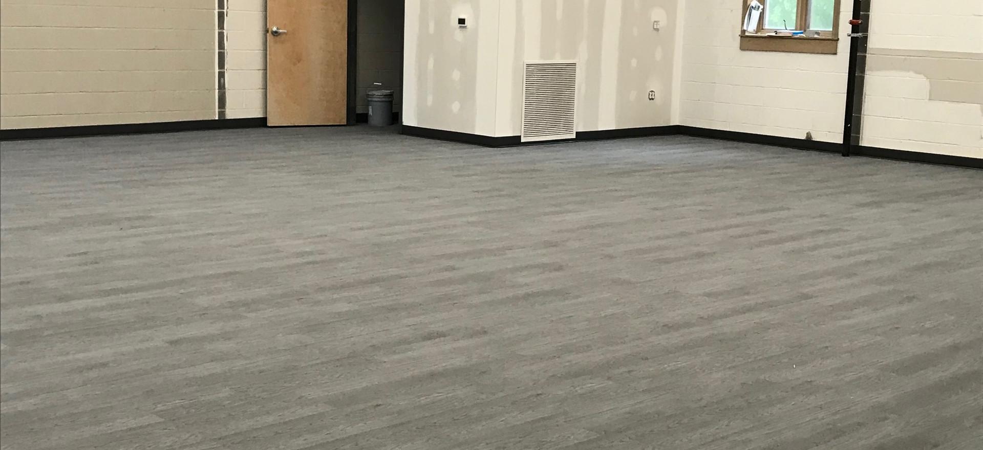 Fellowship Hall Flooring