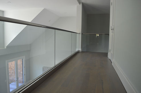 Interior Glass Staircase