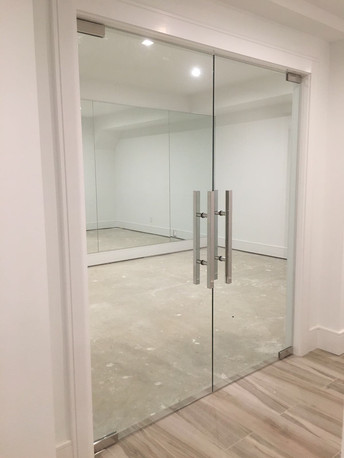 Gym Glass Doors