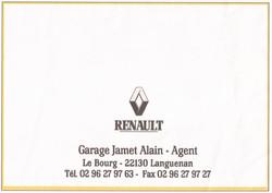 45 GARAGE RENAULT JAMET ALAIN - LANGUENA