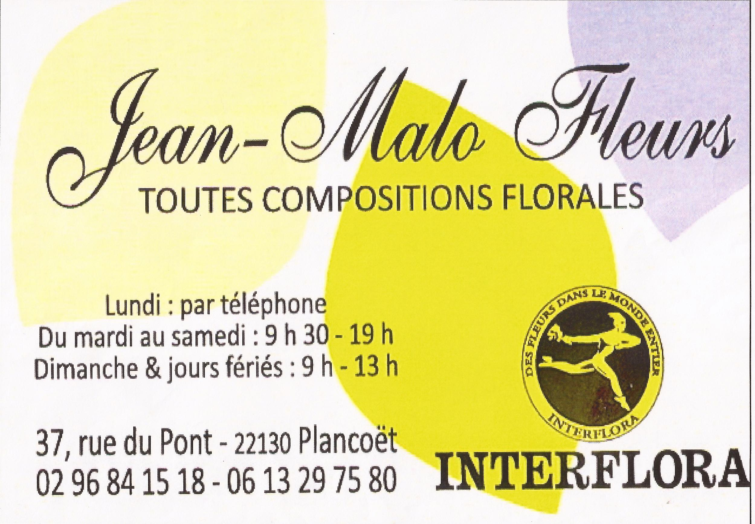 59 JEAN MALO FLEURS - PLANCOET