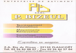 26 ENTREPRISE BATIMENT BIZEUL - PLANCOET