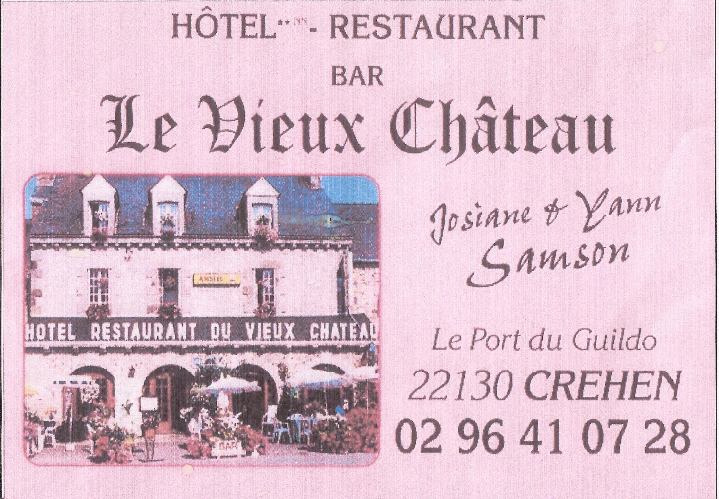 60 HOTEL RESTAURANT LE VIEUC CHATEAU - C