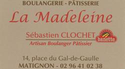 Boulangerie la Madeleine