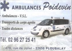 Ambulances Poidevin