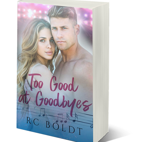 Signed Paperback—Too Good at Goodbyes