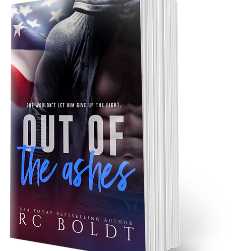 Signed Paperback—Out of the Ashes