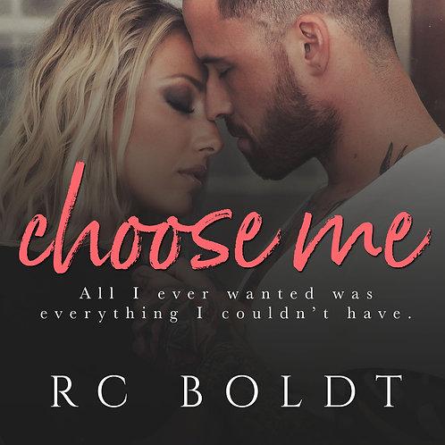 Audiobook Disc—Choose Me, narrated by Samantha Summers & David Vaughn