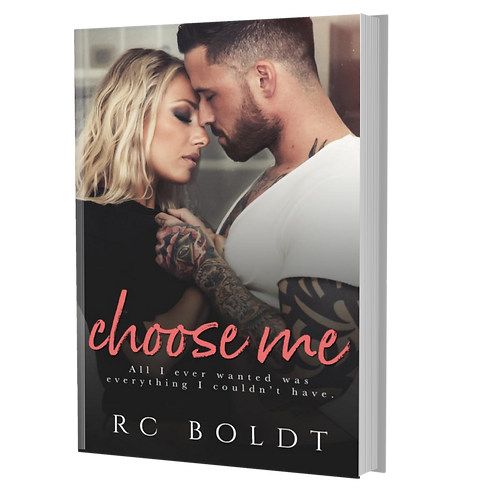 *Imperfect* Signed Paperback—Choose Me