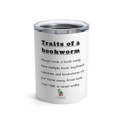 Bookworm traits-Tumbler 10oz