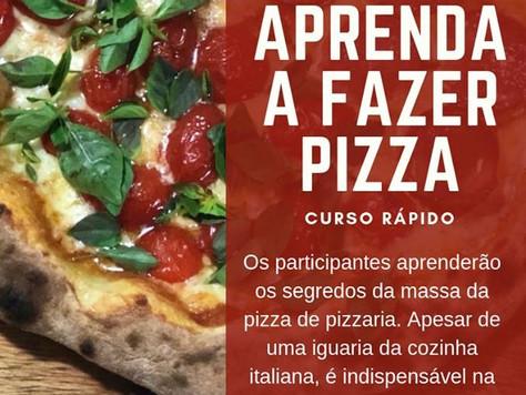 Curso de Pizza é no Coworking São José