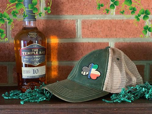 Copper Gear Blue Line Clover hat