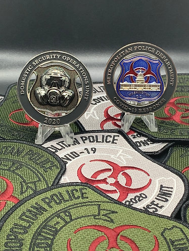 Metropolitan Police COVID-19 Response Challenge Coin