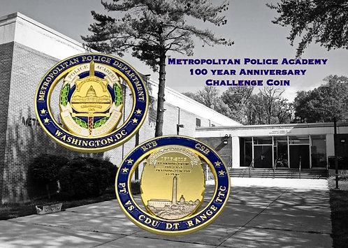 Washington, DC Metropolitan Police Academy Challenge Coin