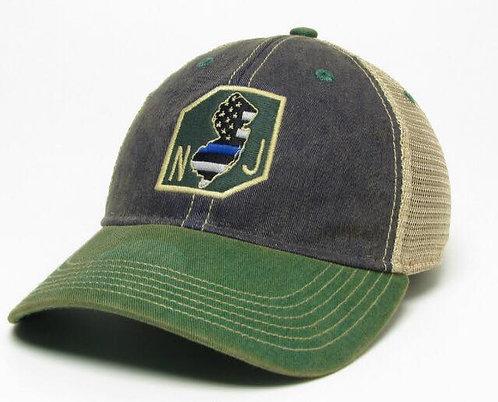 NJ Blue Line Hat