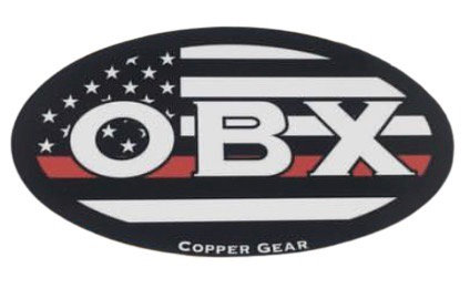 OBX Red Line Decal