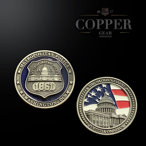 Pocket Carry DC Officer Coin