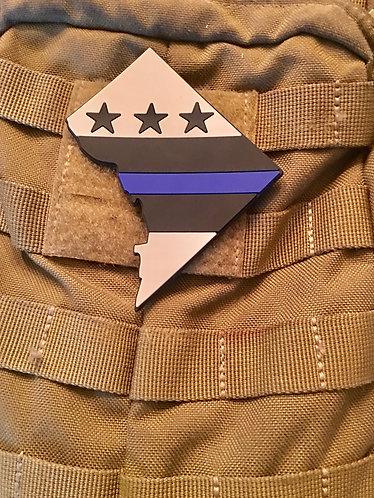 DC Blue Line PVC Patch