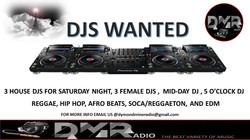 DJS WANTED