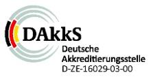 Siegel der Deutschen Akkreditierungsstelle