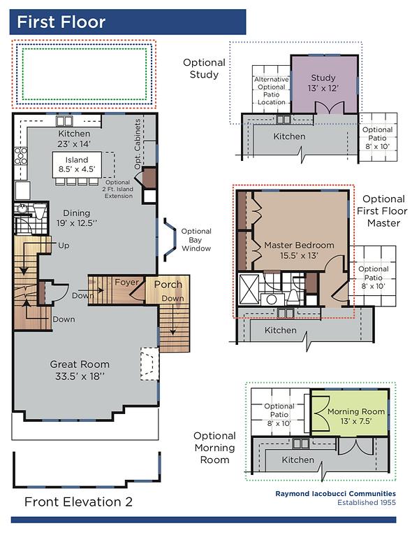 Brandywine First Floor Options.png