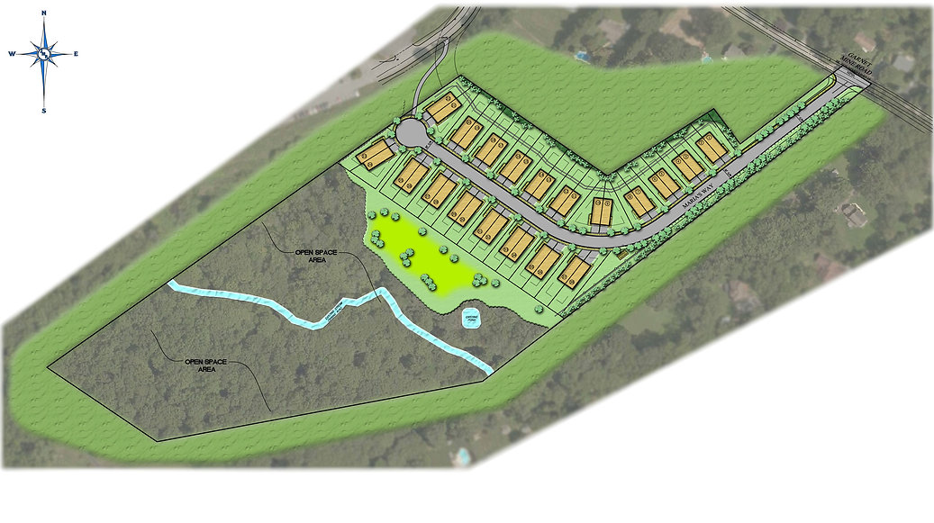 Site Plan Your New Home in Garnet Valley