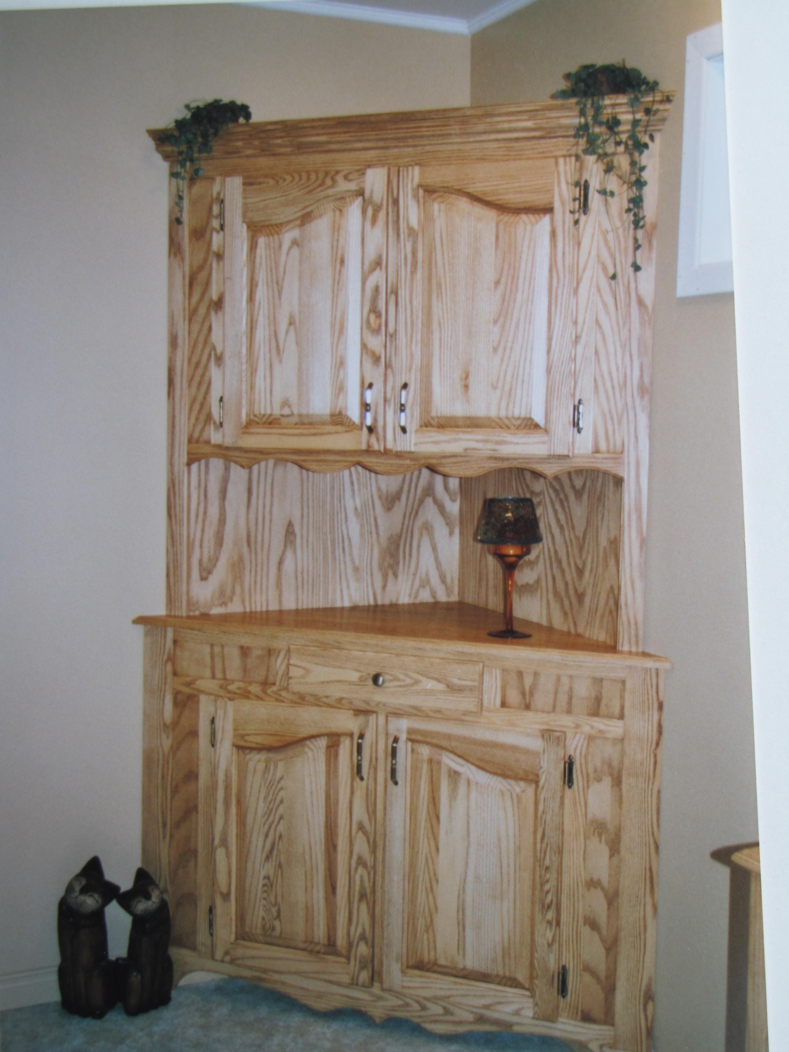 Bahut pour salle de bain en frêne
