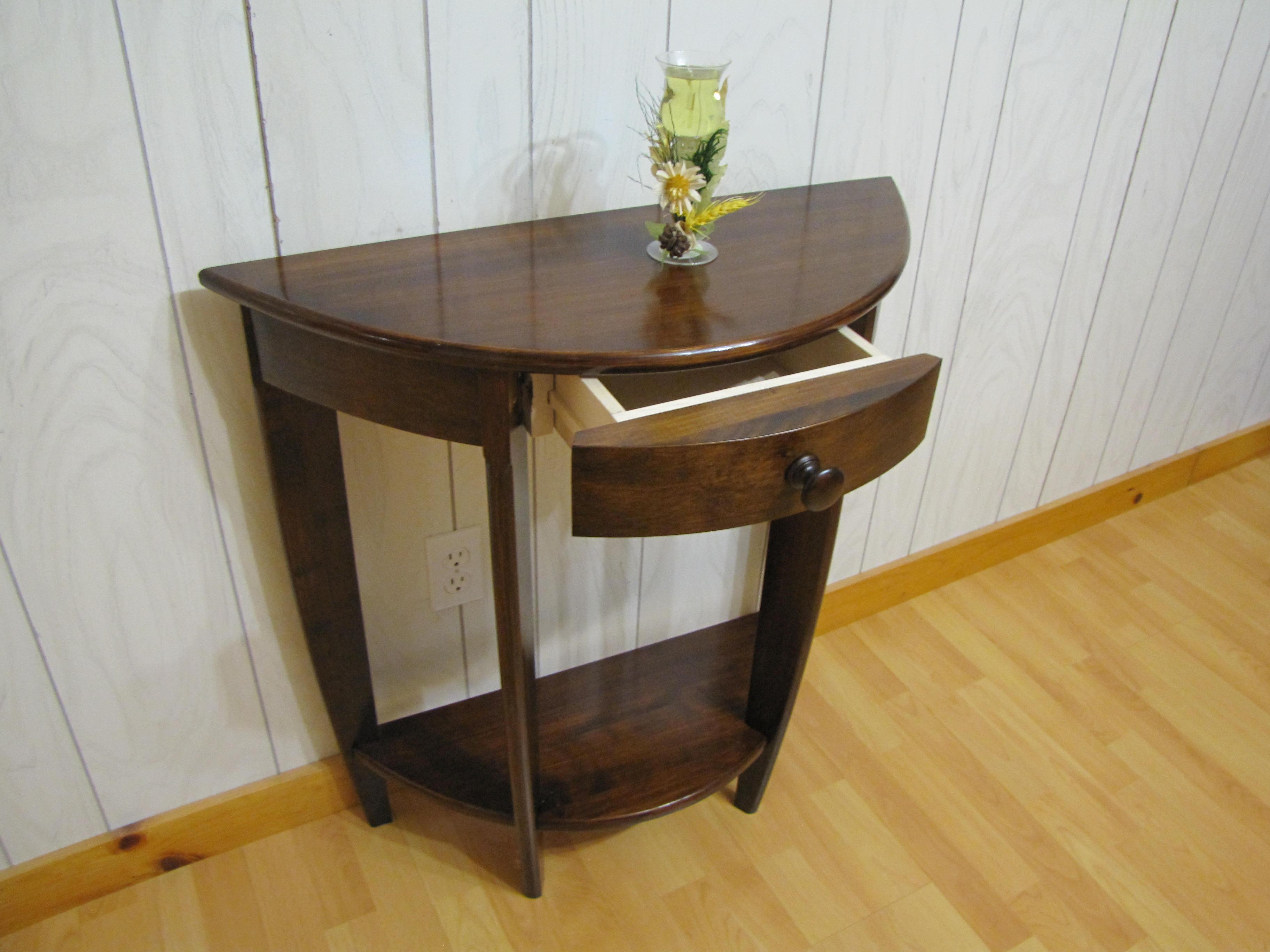 Petite table en rond