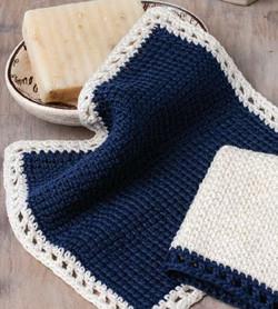 Suffrage Fair Washcloth to Crochet