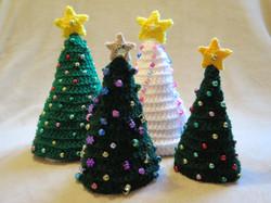 Trees make fun holiday decorations