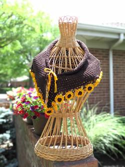 Sunflower Suffrage Shawl