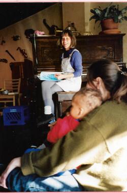Music Cafe Poetic Parenting workshop