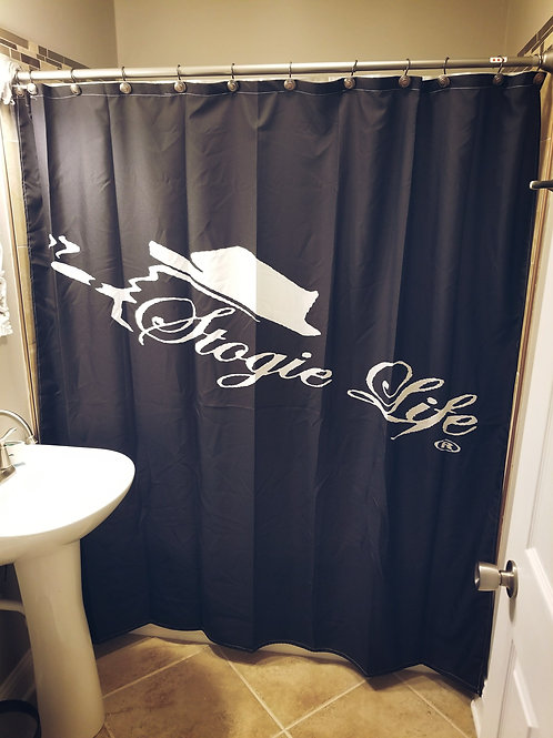 Stogie Life Shower Curtain