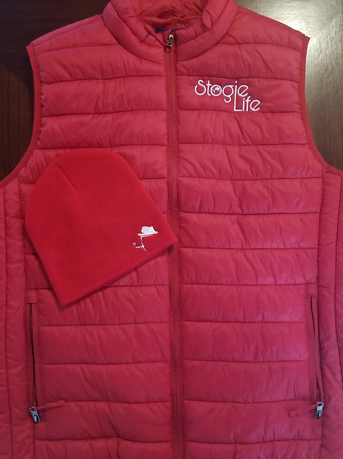 Mens Vest and Skully Combo